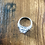 Thumbnail: Silver Diamanté Ring