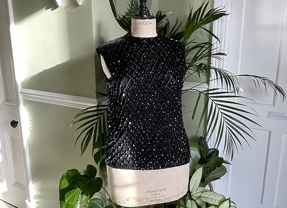 Knitted Beaded Top