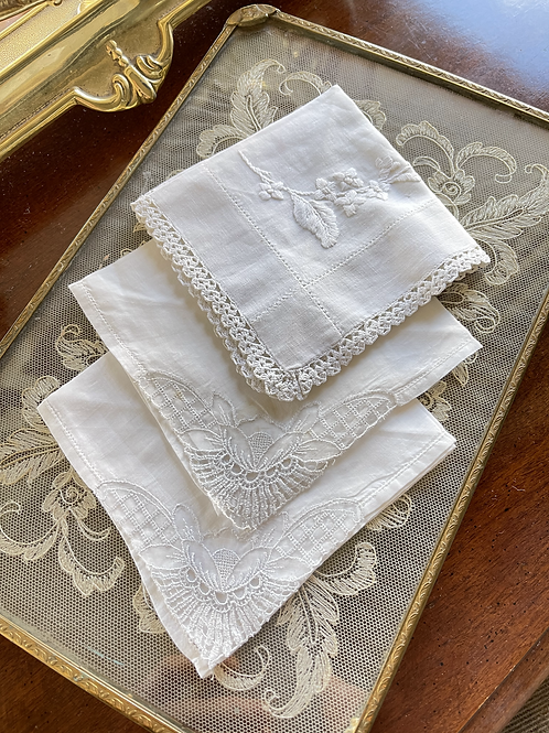 Vintage Handkerchief Pack -