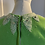 Thumbnail: 1960s Green Knitted Beaded Top