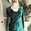 Thumbnail: Panne Velvet Sweetheart Wiggle Dress
