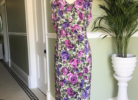 1950s fabric Pencil Dress