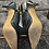 Thumbnail: Navy Leather Sling Backs