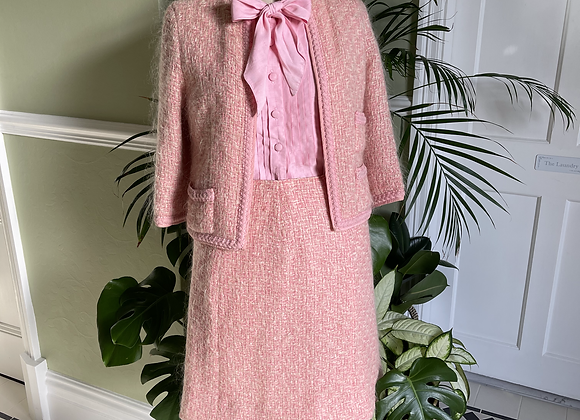 1960s Skirt Jacket and Blouse Ensemble