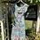1980s Pretty Floral Tea Dress on Hanger