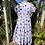 1950s Polka Dot Tea Dress Front View