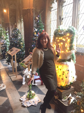 Worcester Cathedral Christmas Tree Festival