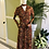 Thumbnail: 1970s Maxi Dress with Choker Neck Line