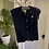 Thumbnail: Hand Knitted Navy Waist Coat