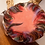 Thumbnail: Coral Velvet and Feather Cock Tail Hat