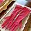 Fuchsia Pink 3/4 Gloves By Cornelia James