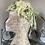Thumbnail: 1960s Green Chiffon, Silk & Raphia Hat