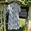 1970s White Print Summer Dress on Hanger