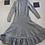 Thumbnail: Silver Knitted Sweater Dress