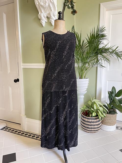 Skirt & Sleeveless Tunic Set