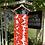 1960s Orange and White Sun Dress on Hanger
