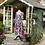 Thumbnail: 80s Vibrant Floral Laura Ashley Tea Dress