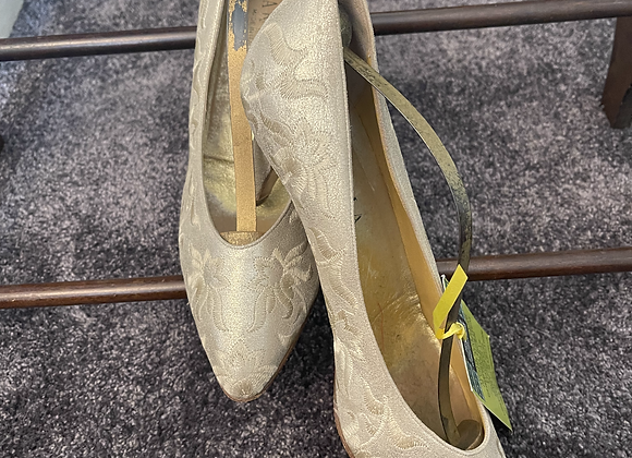 Gold Embroidered Courts