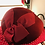 Thumbnail: Burgundy Red Wool Moulded Felt Hat