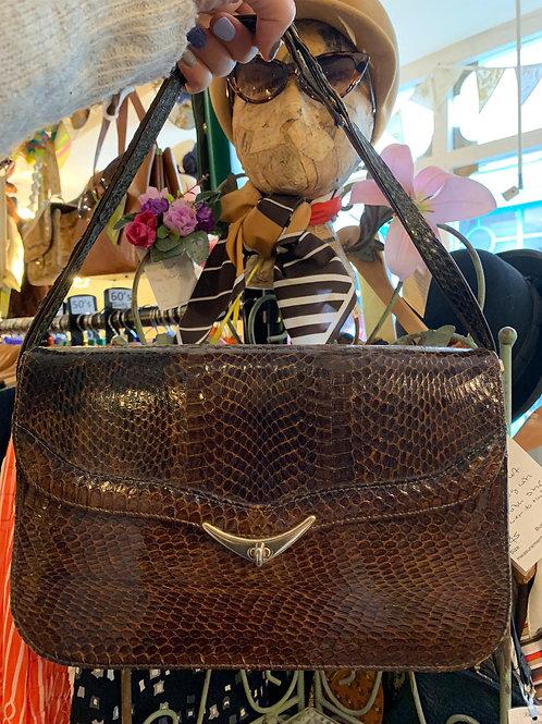 Snake Skin Shoulder/Handbag