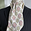 Thumbnail: Vintage Cravat - Cream Grey Green & Red