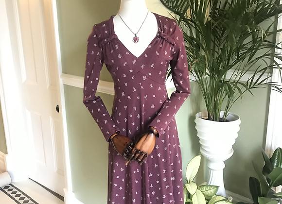 1970s Princess Line Day Dress