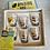 Thumbnail: Vintage Glass Tots Boxed Set