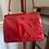 1950s Patent Leather Frame Handbag Back View