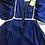 Thumbnail: 1970s Navy Maxi Dress