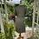 1940s Green Silk Day Dress Back  View