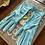 Thumbnail: Turquoise Nylon Gloves