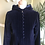 Thumbnail: 1970s Navy Velvet Maxi Coat With Hood