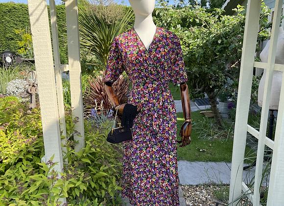 1940s Style Pencil Peplum Dress