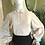 1970s Brown and Cream Edwardian Inspired Ensemble Front View