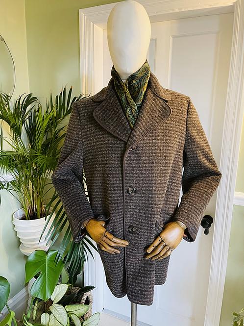 Wool & Cashmere Coat 1960s Coat