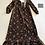 Thumbnail: 1970s Crimplene Maxi Dress