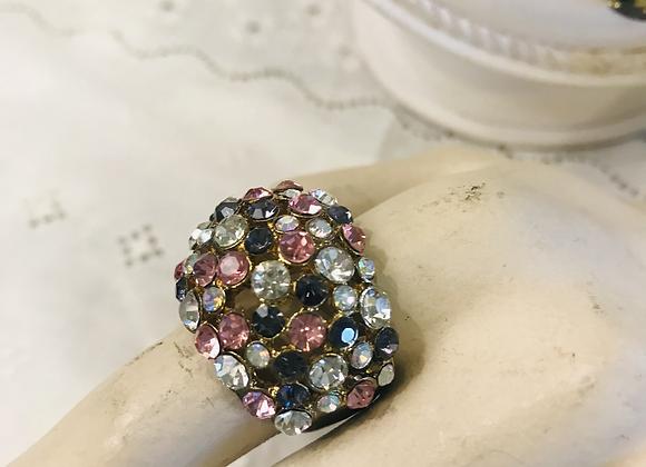 Diamanté Encrusted Ring