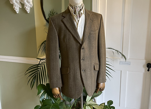Lambswool Tweed Jacket