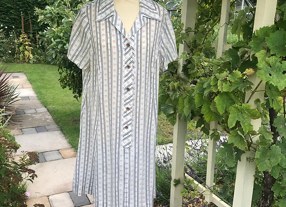 1970s Selfridges Shirt Dress