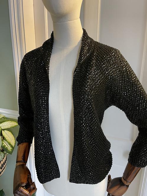 Silk Lined Sequin Jacket
