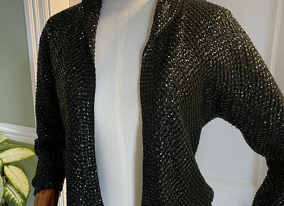 Silk Lined Sequin Jacket