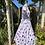 1950s Polka Dot Tea Dress Side View