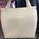Thumbnail: Oversized Cream Vinyl handbag