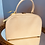 Thumbnail: Cream Vanity Case with Pink Lining