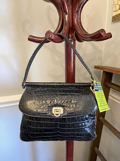 Vintage Crocodile Leather  Hand Bag