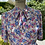 1980s Does 1940s  Floral Print Day Dress Close Up