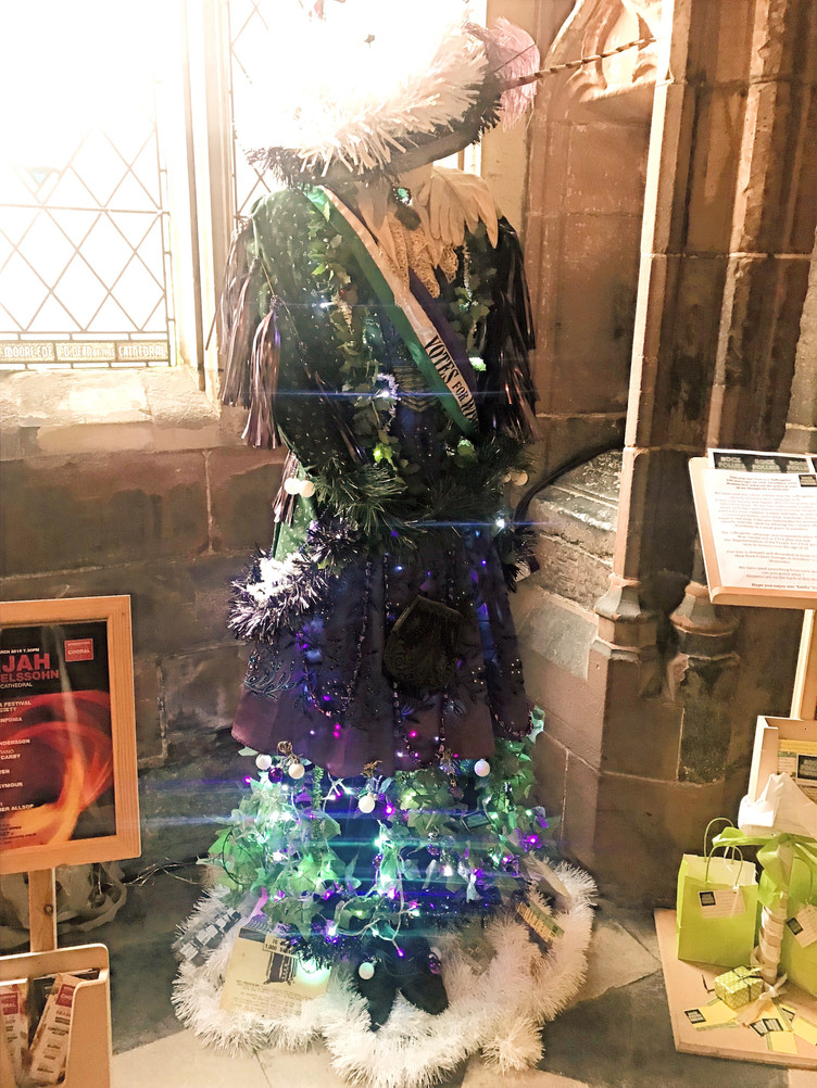 Suffragette Christmas Tree