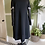 Thumbnail: 1970s Black Dress with Silver Lurex Sleeves