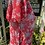 1920s Muslin Floaty Dress with Caplet close up
