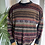 Thumbnail: Aztec pattern 1980s Crew Neck Jumper